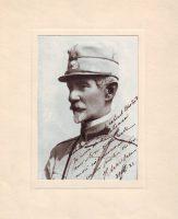 Portretul generalului Alexandru Averescu in 1921, cu dedicație autografă pentru fostul său șef de cabinet, col. Hiottu (achiziție, nr. inv. 2582F.)