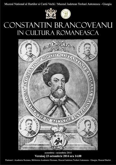 Constantin Brancoveanu in cultura romaneasca